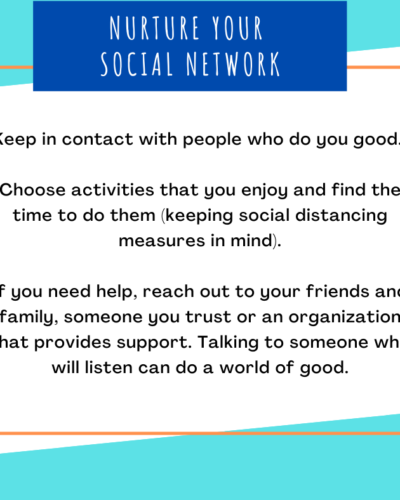 Nuture your social network